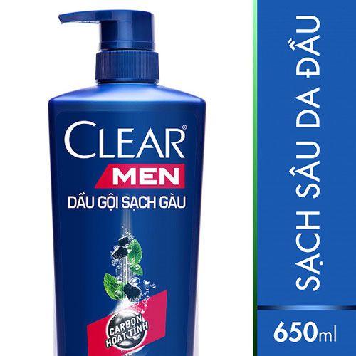 Top 10 loại dầu gội dành cho nam 6 - Dầu Gội Sạch Gàu Dành Cho Nam Clear Men Cool Sport
