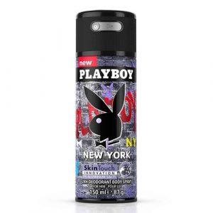 Top 10 xịt khử mùi, lăn khử mùi dành cho nam - Playboy 24h Deadorant Body Spray