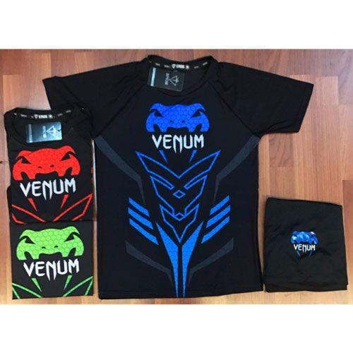 Top 10 áo thun thể thao nam tốt nhất nên dùng trong năm - Eros - Venum Xanh Dương