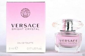 Top 10 nước hoa nữ - Versace Bright Crystal Eau De Toilette 5ml