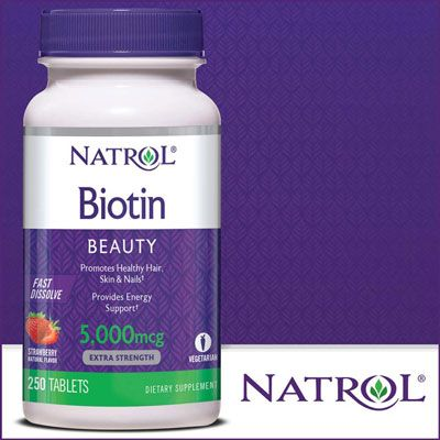Top 10 Thuốc mọc tóc dành cho nam - Biotin Natrol