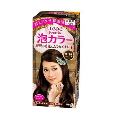 Top 5 Thuốc nhuộm tóc nữ - Thuốc nhuộm tóc Kao Liese Prettia