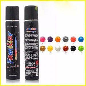 Top 5 Thuốc nhuộm tóc nam - Keo xịt tóc màu Familiar