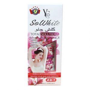 Top 10 Kem Dưỡng Da bán chạy nhất - YC So White Solution