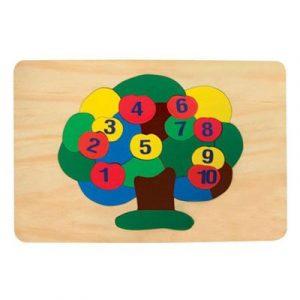 Top 10 Đồ Chơi Giáo Dục trẻ em 3 - Đồ chơi gỗ tranh ghép Vietoys