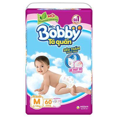 Top 5 Tã Quần cho bé - Bobby Gói cực đại