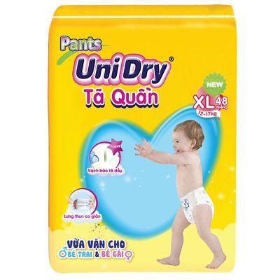 Top 5 Tã Quần cho bé - Unidry gói cực đại