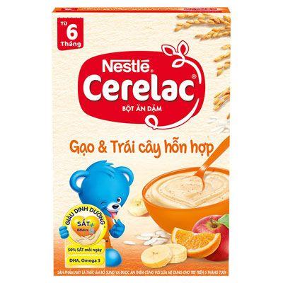 Top 10 Bột Ăn Dặm cho bé 1 - Nestle Cerealc