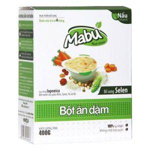Top 10 Bột Ăn Dặm cho bé 5 - Bột ăn dặm Mabu