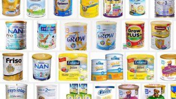Top 10 Sữa Bột Cho Bé được tin dùng