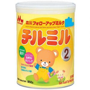 Top 10 Sữa Bột Cho Bé 10 - Morinaga Số 2