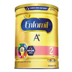 Top 10 Sữa Bột Cho Bé 2 - Enfamil A+ 2