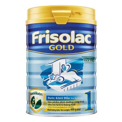 Top 10 Sữa Bột Cho Bé 3 - Frisolac Gold 1