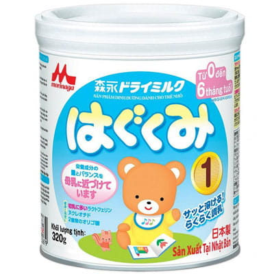 Top 10 Sữa Bột Cho Bé 5 - Morinaga Số 1