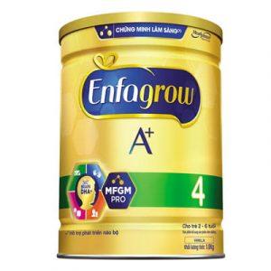 Top 10 Sữa Bột Cho Bé 6 - Bột Enfagrow A+ 4
