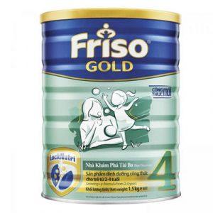 Top 10 Sữa Bột Cho Bé 7 - Frisolac Gold 4