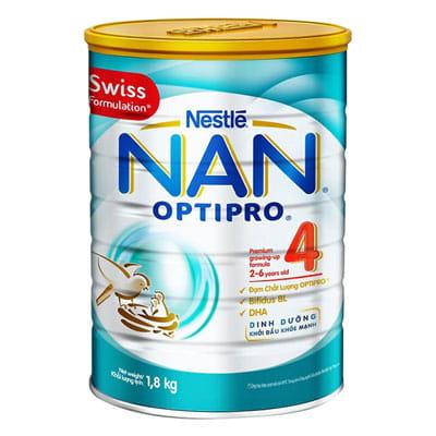 Top 10 Sữa Bột Cho Bé 8 - Nestle NAN Optipro 4