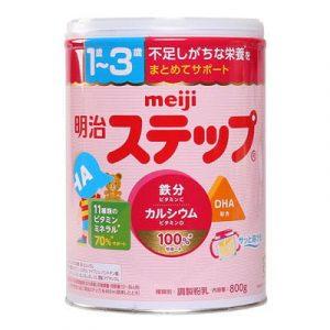 Top 10 Sữa Bột Cho Bé 9 - Meiji Step Milk Số 9