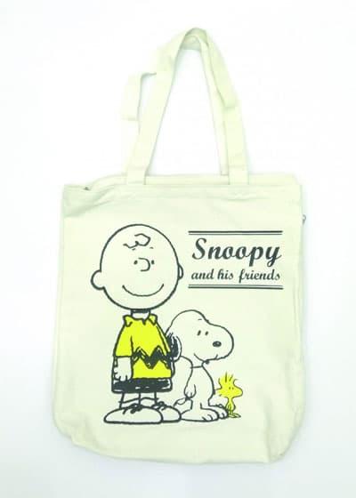 Túi xách nữ vải bố Snoopy