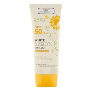 Kem chống nắng dưỡng da Dabo White Sunblock Cream