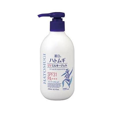 Sữa dưỡng thể chống nắng Hatomugi SPF31