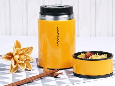 Bình đựng thức ăn giữ nhiệt Column Food Jar Lock&Lock