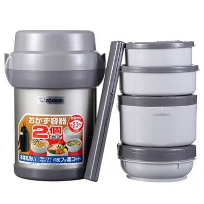 Hộp cơm giữ nhiệt Zojirushi 4 Ngăn - 1.3L