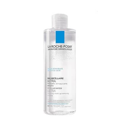 Nước tẩy trang cho nhạy cảm La Roche-Posay Micellar Water Ultra Sensitive Skin (400ml)