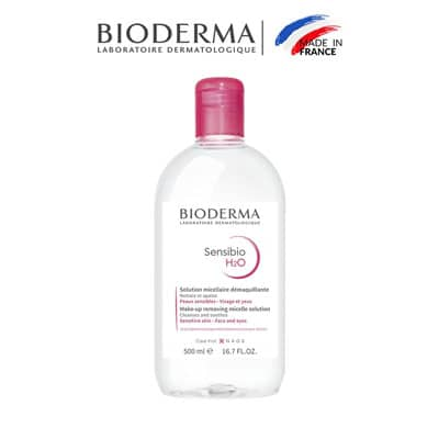 Nước tẩy trang Bioderma công nghệ Micella Sensibio H20 (500ml)
